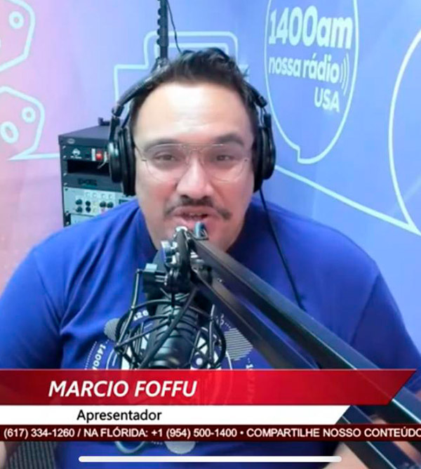 Jornalista Marcio Foffu